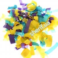 Конфетти Mix цв.бумага 0,08кг (80гр)