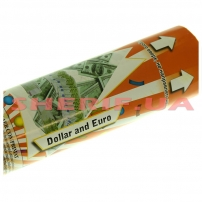 Пневмохлопушка Конфетти доллары/евро Dollars 30см-2