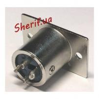 Штекер на корпус HY1.4823 XLR 3-pin male-3