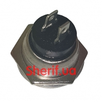 Кнопка DS-212 без фиксации OFF-(ON), желтая-3