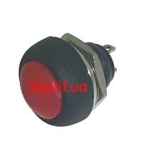 Кнопка PBS-33B красная без фиксации с гайкой