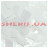 Конфетти (метафан) White пленка, 1 кг