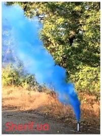Дымный факел Синий 60сек-5