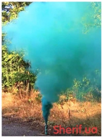 Дымный факел Зеленый 60сек-5