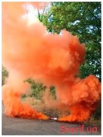 Дымный факел Оранжевый 60сек DUPLEX-2