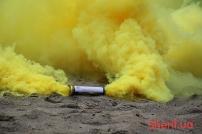 Дымный факел Желтый 60сек DUPLEX-5