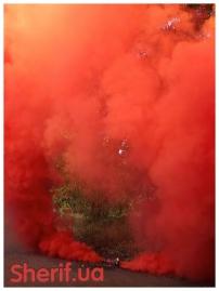 Дымный факел Красный 60сек DUPLEX-4