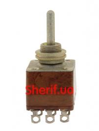 Тумблер двухполюсный ПТ3-30В-2