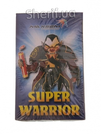 Шутиха (петарда) Super Warrior K0201S (1уп/60шт)