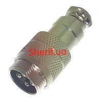 Разъем MIC 344 М крепление на кабель, 4 контакта