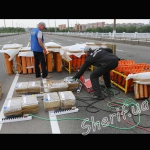 Центральный мост - Шериф - подготовка к фейерверку