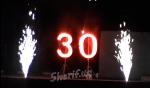 Фейерверк День Рождения 30 лет