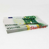 Сувенирная пачка купюр по 100 Евро