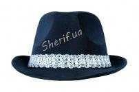 Шляпа Мужская Гангстерская