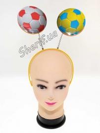 Ободок с антенками Мячи футбольные
