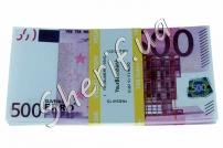 Сувенирная пачка купюр по 500 евро