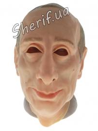 Карнавальная маска Путин резиновая