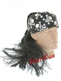 Бандана Пирата с волосами