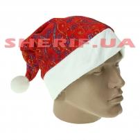 Колпак Санта Клауса с рисунком