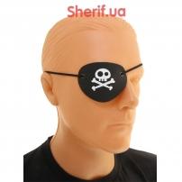 Повязка Пирата на глаз кожаная TVV-2822