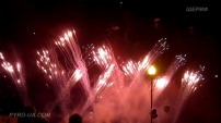 Фейерверк The Final Countdown Europe (версия от 15.08.2012 г.Авдеевка)