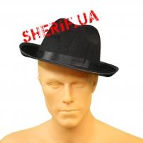 KSH-1073 Шляпа Мужская фетр (черная)