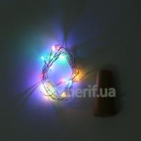 Гирлянда Пробка-Роса 20 Led, 2м multicolor (1278-01)