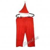 Костюм карнавальный Деда Мороза (детский), 6-9 лет
