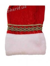 Карнавальный костюм Деда Мороза с вышивкой