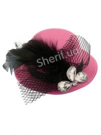 Шляпка Гламур средняя в ассортименте
