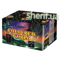 Купить в Днепре GWM6121 Салютная установка Coloured World 120 зар. 30мм