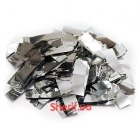 Конфетти Silver «Серебряная фольга», 1 кг (метафан)