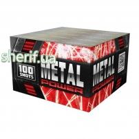 Салютная установка 'METAL POWER' 100 зар. 30 мм