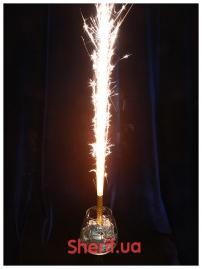 Тортовая свеча золотая Р0018/А12