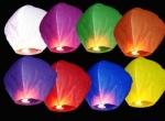 Небесный фонарик Купол (цвета в ассортименте)